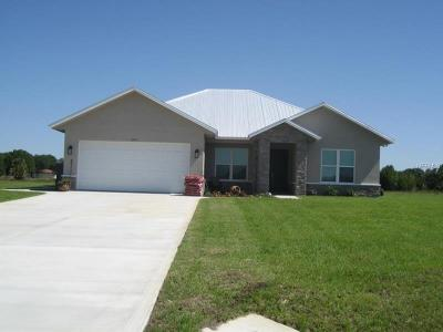 Okeechobee County Single Family Home For Sale: 7255 SW 19th Court