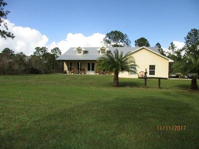 Okeechobee County Single Family Home For Sale: Tbd NE 365th Lane