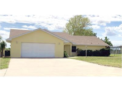 Okeechobee County Single Family Home For Sale: 13072 SW 144th Parkway