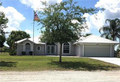 Okeechobee County Single Family Home For Sale: 12245 NE 56th Avenue