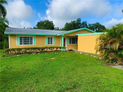 Okeechobee County Single Family Home For Sale: 3352 SW 18th Street