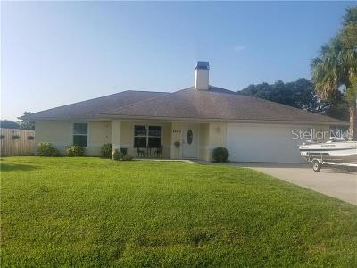 Okeechobee County Single Family Home For Sale: 3203 SE 25th Street