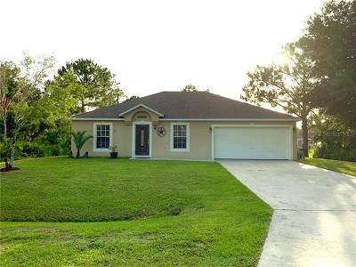 Okeechobee County Single Family Home For Sale: 3011 NW 33rd Ave Avenue