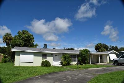 Okeechobee County Single Family Home For Sale: 312 SE 8th Avenue