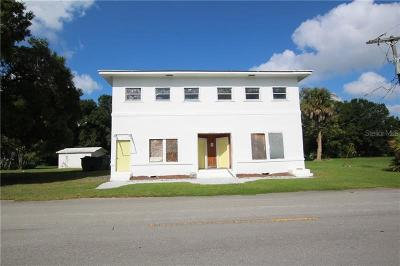 Okeechobee County Multi Family Home For Sale: 210 SW 6th Avenue