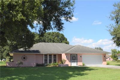 Okeechobee County Single Family Home For Sale: 2341 SW 3rd Court