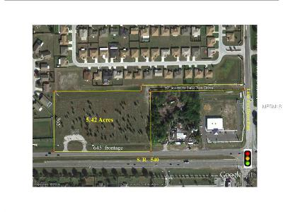 Winter Haven Residential Lots & Land For Sale: Cypress Gardens Boulevard SE