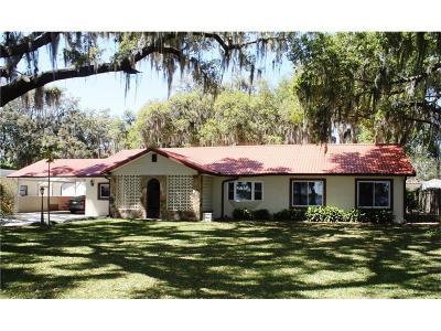 Auburndale Single Family Home For Sale: 504 Lake Lena Boulevard