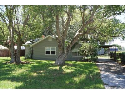 Tavares FL Single Family Home For Sale: $159,900
