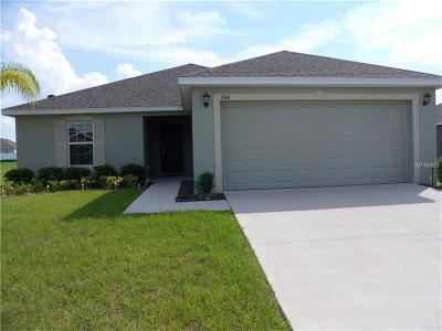 Lake Alfred Single Family Home For Sale: 384 Sierra Mike Boulevard