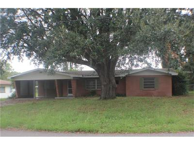 Lake Alfred Single Family Home For Sale: 320 S Goodman Avenue