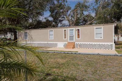 Winter Haven Mobile/Manufactured For Sale: 826 Indian Bluff