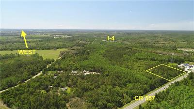 Polk City Residential Lots & Land For Sale: Us Hwy 557