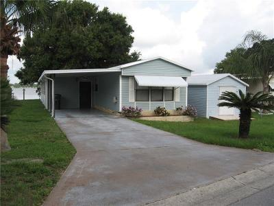 Lake Alfred Mobile/Manufactured For Sale: 2044 Thelma Drive