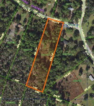 Lakeland Residential Lots & Land For Sale: 2530 Forestland Drive