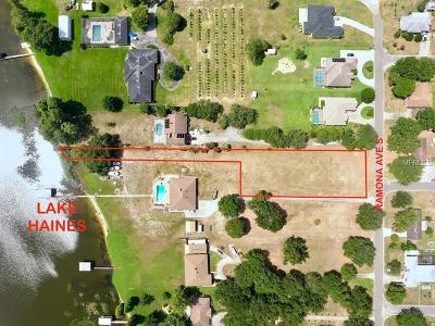 Lake Alfred Residential Lots & Land For Sale: 590 S Ramona Avenue
