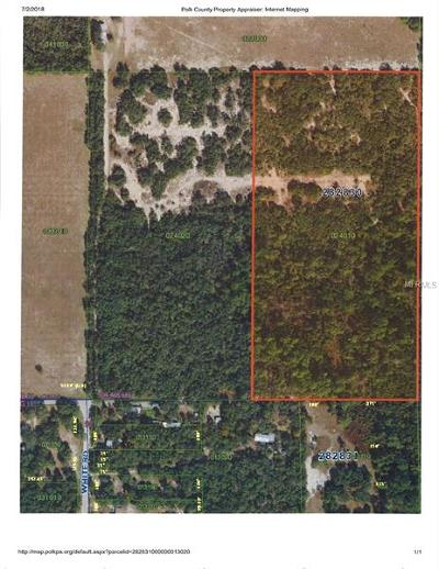 Haines City Residential Lots & Land For Sale: 0 Walters Road
