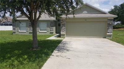 Winter Haven Single Family Home For Sale: 577 Terranova Circle