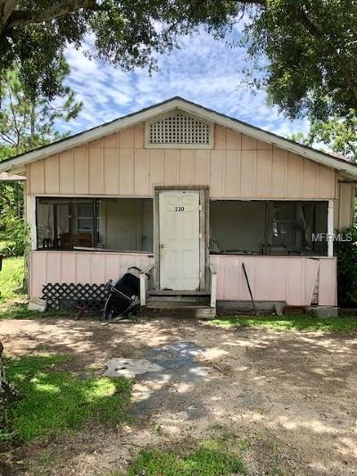 Haines City Single Family Home For Sale: 220 N 19th Street