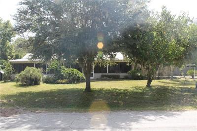 Leesburg Single Family Home For Sale: 30602 Orange Drive