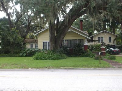 Bartow Single Family Home For Sale: 580 S Floral Avenue