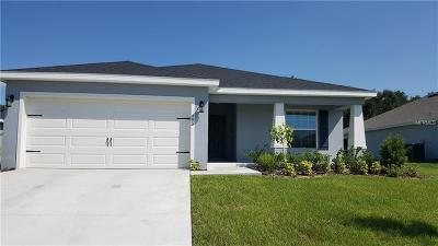 Lake Alfred Single Family Home For Sale: 493 Interlock Street