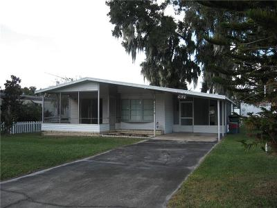 Lake Alfred Mobile/Manufactured For Sale: 2037 Thelma Drive