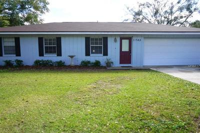 Bartow Single Family Home For Sale: 1745 Orangewood Circle