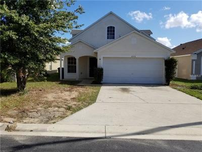 Davenport Single Family Home For Sale: 812 Rollins Drive