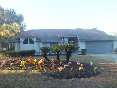 Winter Haven Single Family Home For Sale: 2921 Plantation Road