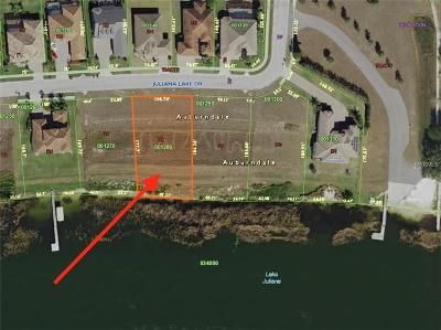 Auburndale Residential Lots & Land For Sale: 4079 Juliana Lake Drive