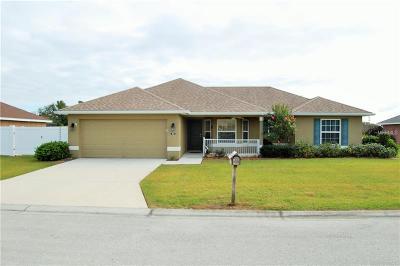 Auburndale Single Family Home For Sale: 1590 Dove View
