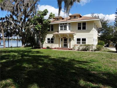 Winter Haven Single Family Home For Sale: 521 Lake Martha Drive NE