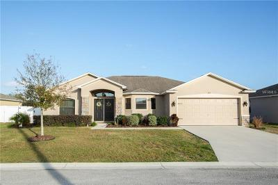 Winter Haven Single Family Home For Sale: 253 Majestic Gardens Lane
