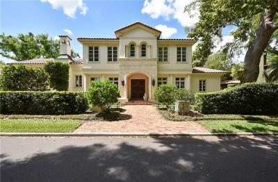 Winter Park Single Family Home For Sale: 1230 N Park Avenue