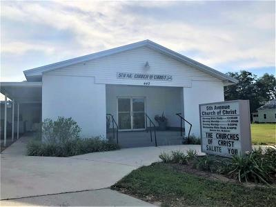 Bartow Commercial For Sale: 440 S 5th Avenue