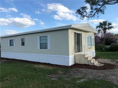 Lake Alfred Mobile/Manufactured For Sale: 2171 Lois Boulevard