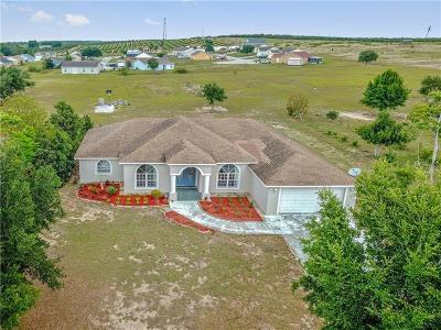 Haines City Single Family Home For Sale: 310 Hatchineha Road