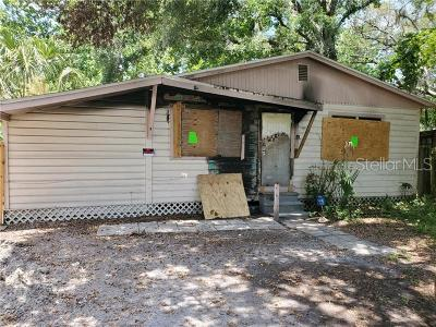 Tampa Single Family Home For Sale: 9612 N 11th Street