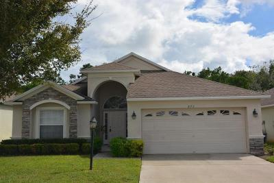 Winter Haven Single Family Home For Sale: 875 Buccaneer Boulevard