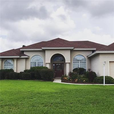 Winter Haven Single Family Home For Sale: 7380 Bent Grass Drive