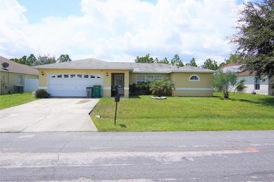 Kissimmee Single Family Home For Sale: 1325 Dunbarton Ct