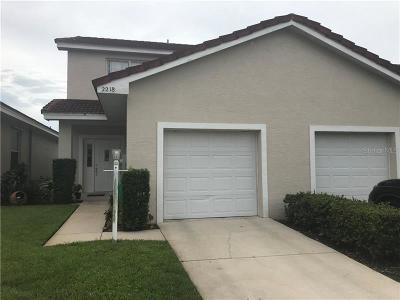Winter Haven Townhouse For Sale: 2218 Garden Lake Drive