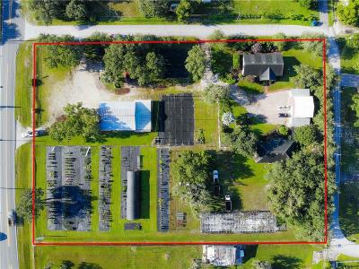 Winter Haven Commercial For Sale: 5123 Spirit Lake Road