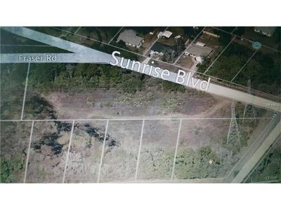 Debary Residential Lots & Land For Sale: 267 Sunrise Boulevard #1