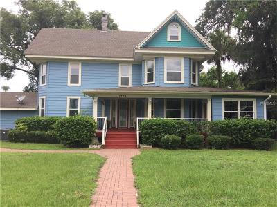 Deland Single Family Home For Sale: 1229 W New York Avenue