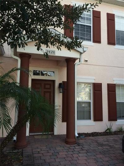 Kissimmee Townhouse For Sale: 2428 Caravelle Circle