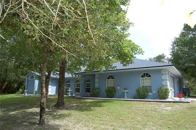 Deltona Single Family Home For Sale: 2869 Highland Lakes Drive