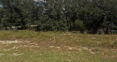 Levy County Residential Lots & Land For Sale: SE 125th Court