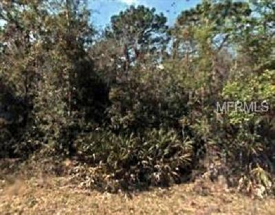 Crystal River Residential Lots & Land For Sale: 9624 W Tennessee Lane